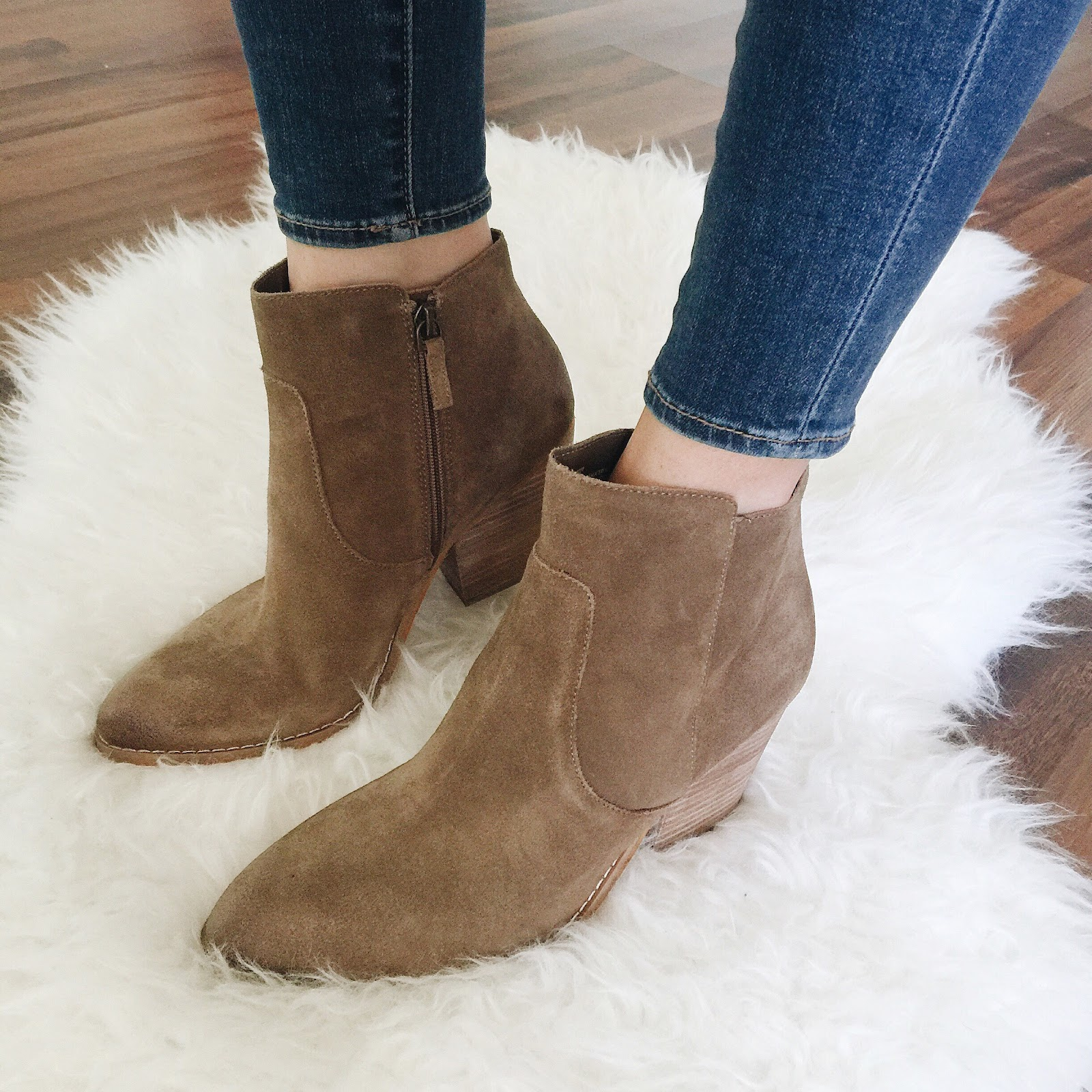 Tan suede ankle boots | Treasure&Bond 'Winsor' Bootie