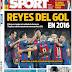 Les buts du Barça en 2016