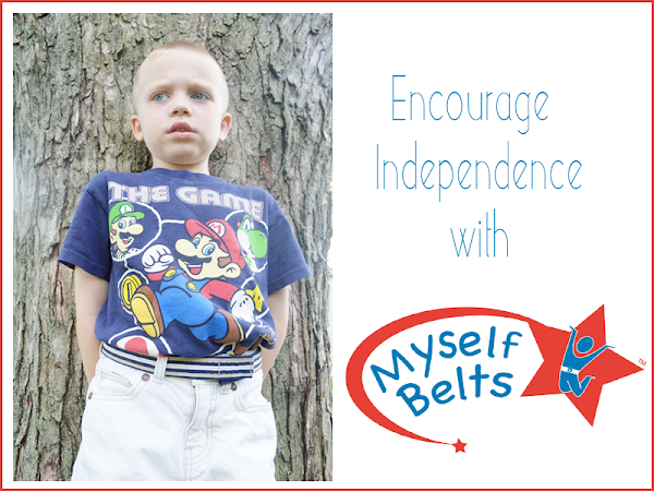 Encourage Independence with Myself Belts {Review & Giveaway}