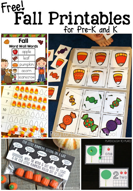 Fall is a busy time, but these print and go resources are just the thing you need to make planning a breeze. Check this post out for ready to go preK activities.