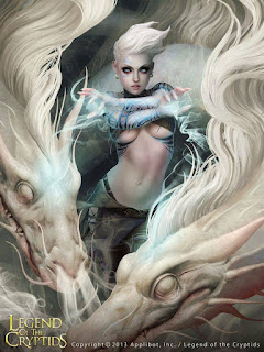 Dragón Blanco. Legends of Cryptids
