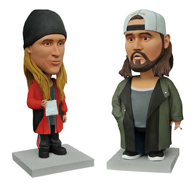 Jay and Silent Bob Bobble Heads by Diamond Select Toys