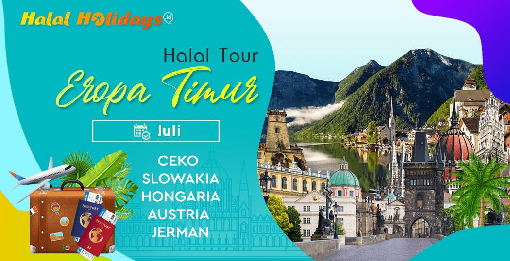 Paket Tour Eropa Timur Murah Bulan Juli 2021