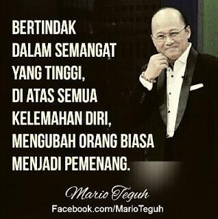 Kata-kata Mutiara Bijak Mario Teguh Terbaru 2016