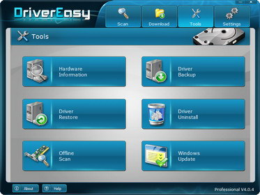Stop looking for missing drivers,use DriverEasy Professional 4.5!
