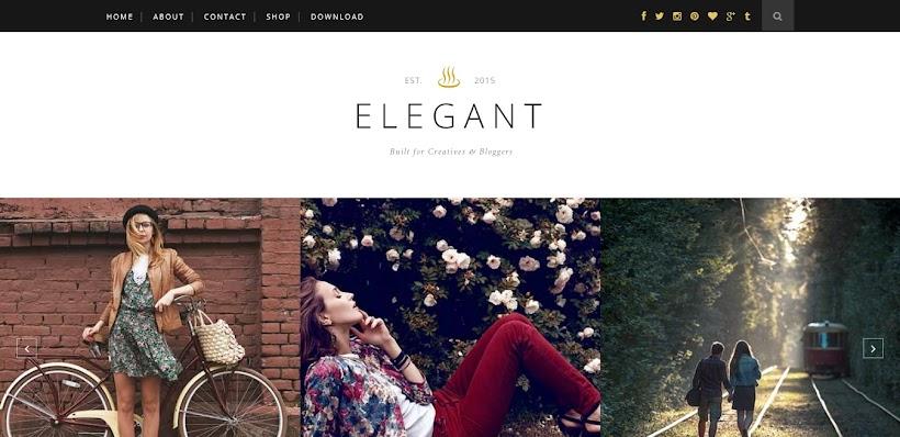 Elegant Free Blogger Template