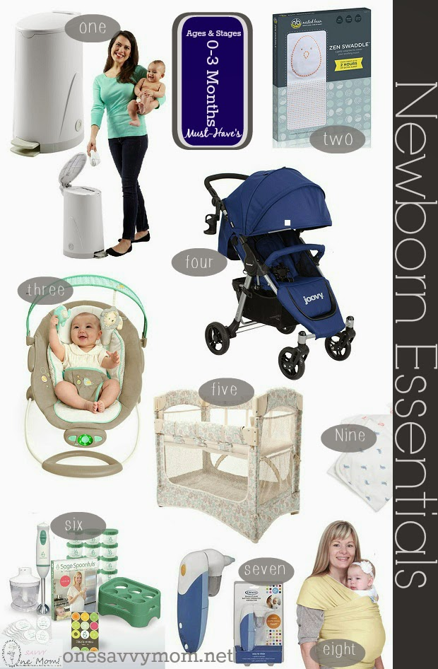 One Savvy Mom ™ NYC Area Mom Blog Newborn Essentials Guide \