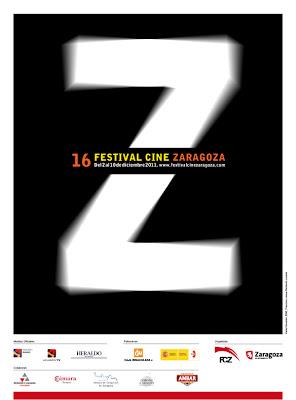 Cartel 16 edición Festival de cine de Zaragoza