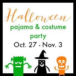 Halloween Pajama & Costume Party