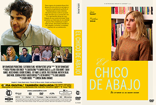 The Boy Downstairs - El Chico de Abajo - Cover DVD
