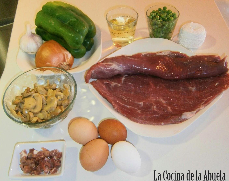 Rollo de Carne Relleno Tradicional