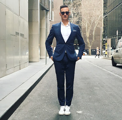ADIDAS SUPERSTARS WITH SUITS
