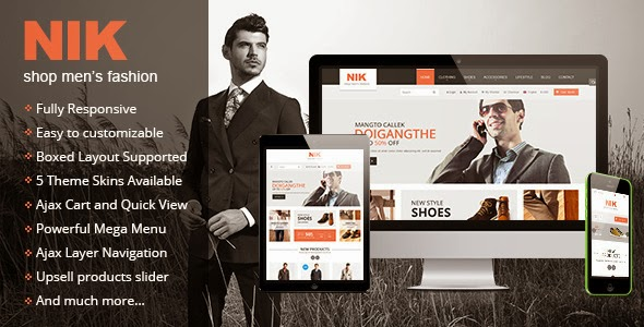 fashion shop website template