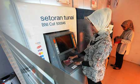 Lokasi Mesin ATM Setor Tunai BNI di Semarang?