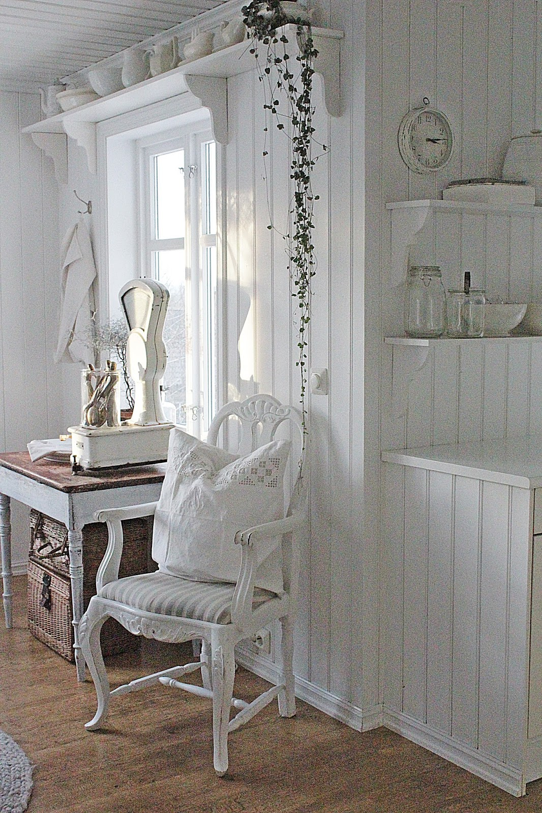 Vibeke design: januar...i hvitt
