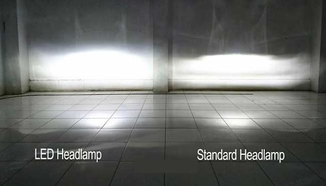 Lampu LED Motor