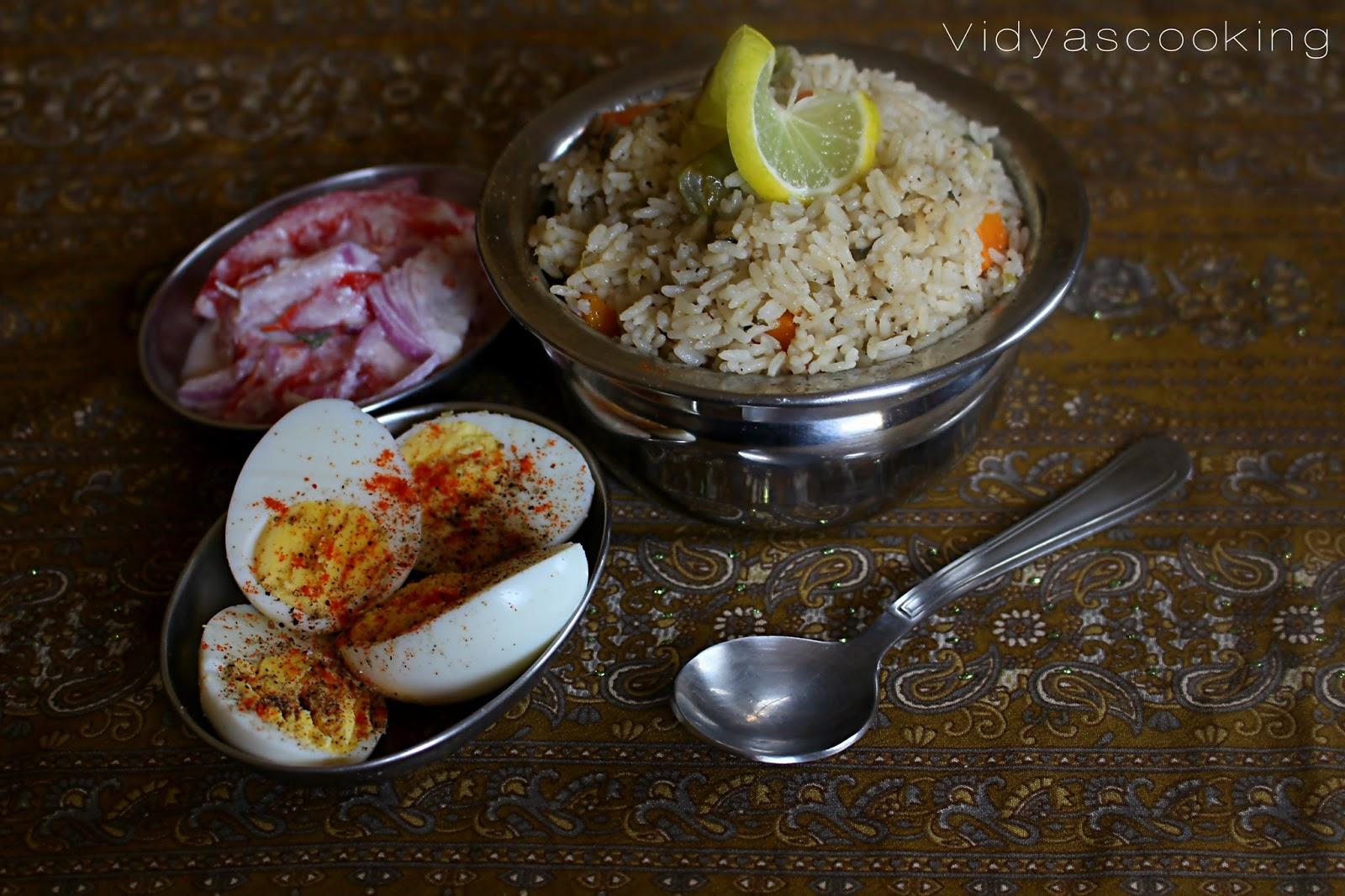 Vidyascooking karnataka style vegetable pulao recipe karnataka style vegetable pulao recipe forumfinder Choice Image