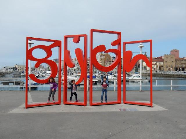 Cartel de Gijón, Asturias, España, Elisa N, Blog de Viajes, Lifestyle, Travel
