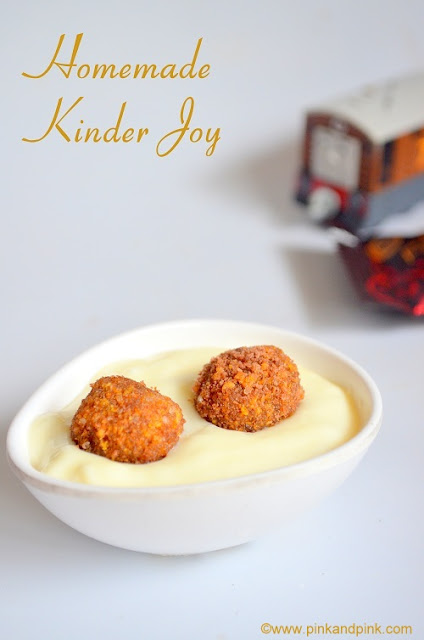 Kinder Joy Chocolate Recipe