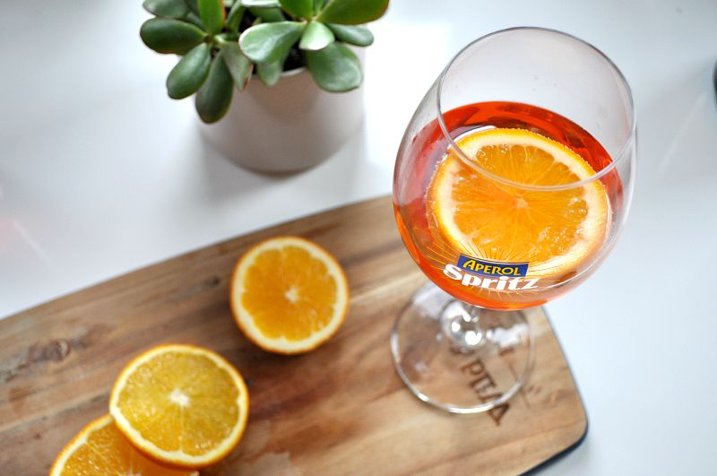 Share an Aperol Spritz