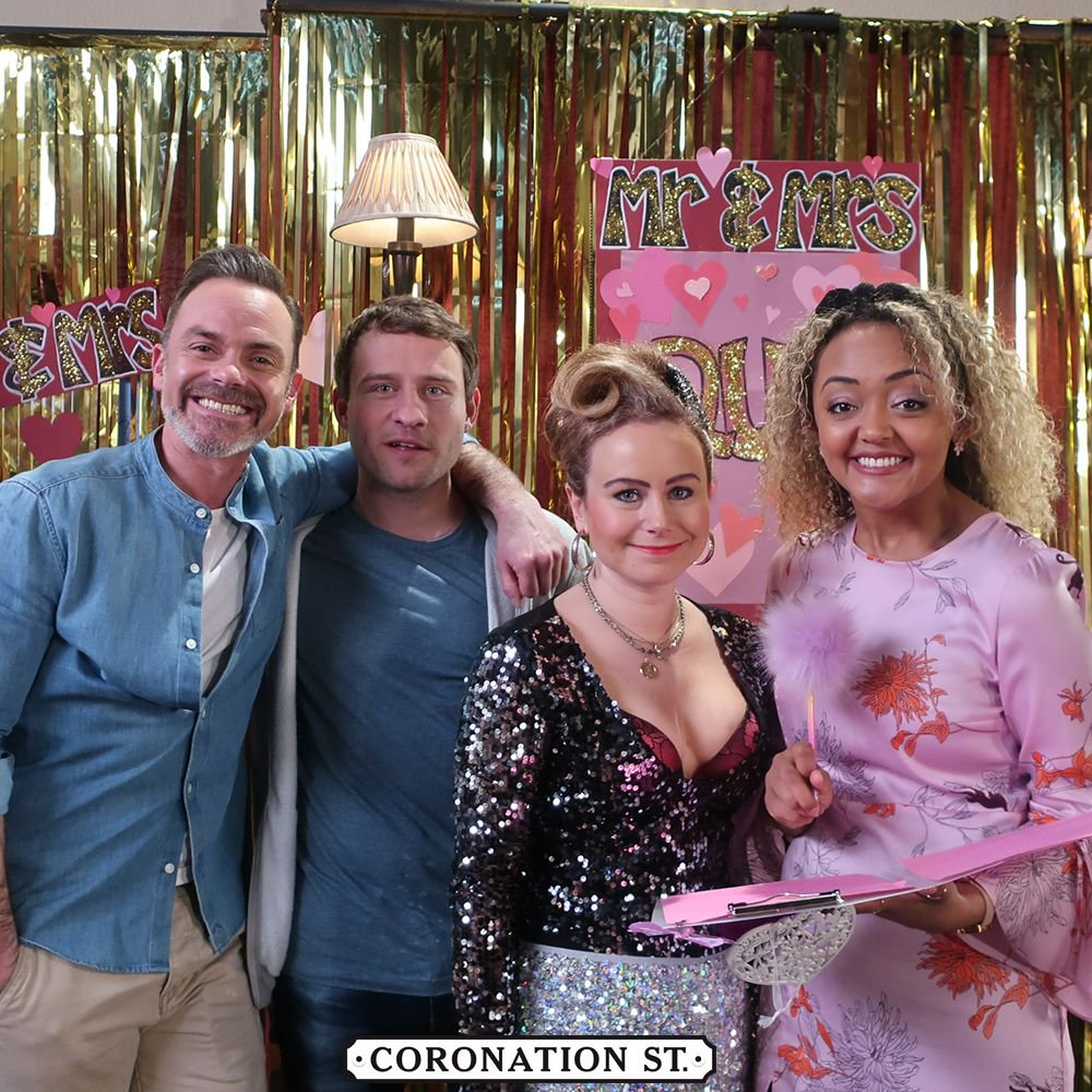 Coronation Street Blog: Mr & Mrs Competition For