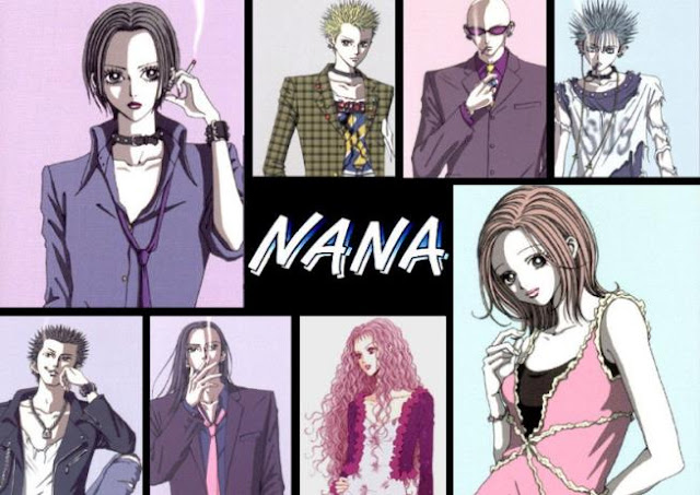 Anime Drama Romance Terbaik - Nana