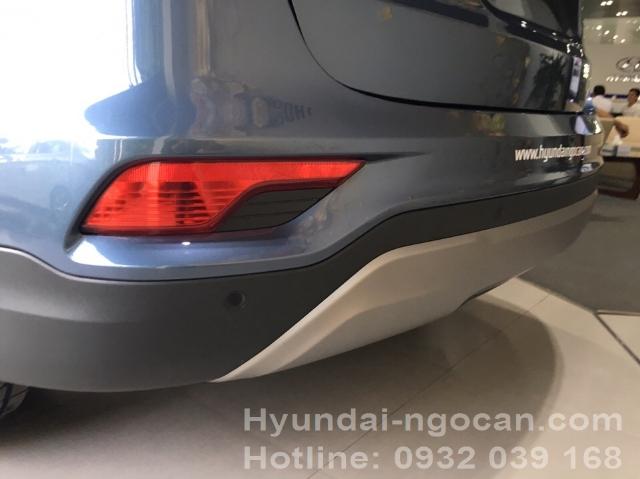 Santafe 2017 màu xanh Hyundai Santafe 2017 máy dầu màu xanh 394d9c14b220a4369d5b092e91a41695