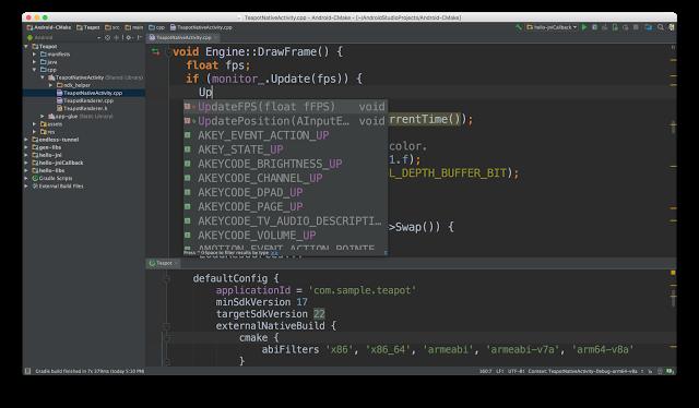 C ++ Dukungan Kode Editing & CMake