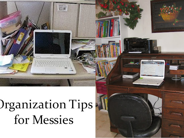 Organization Tips for Messies