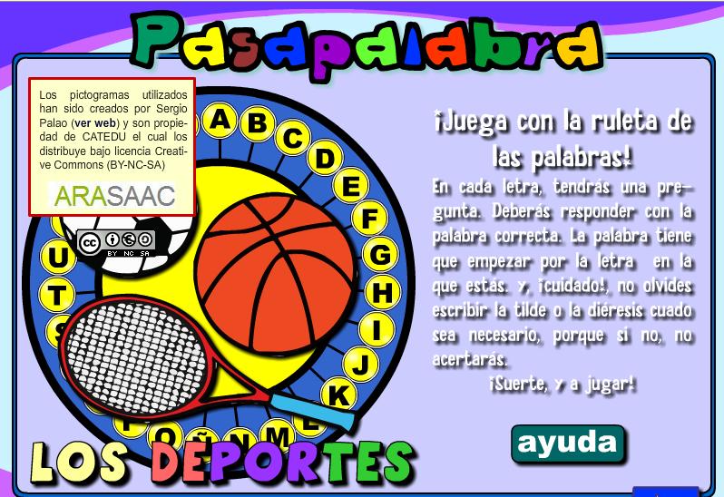 http://cpvaldespartera.educa.aragon.es/pasapalabras/w_infantil_deportes.swf
