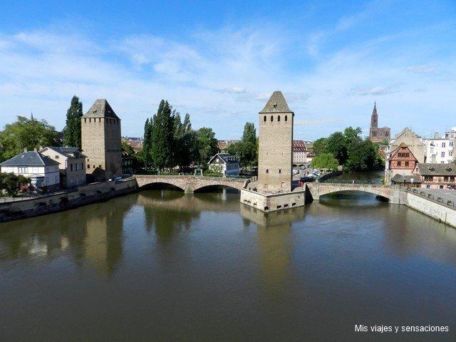 Les Ponts Couverts, Estrasburgo, Alsacia, Francia