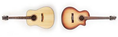 Chọn mua đàn guitar thùng tròn hay thùng khuyết