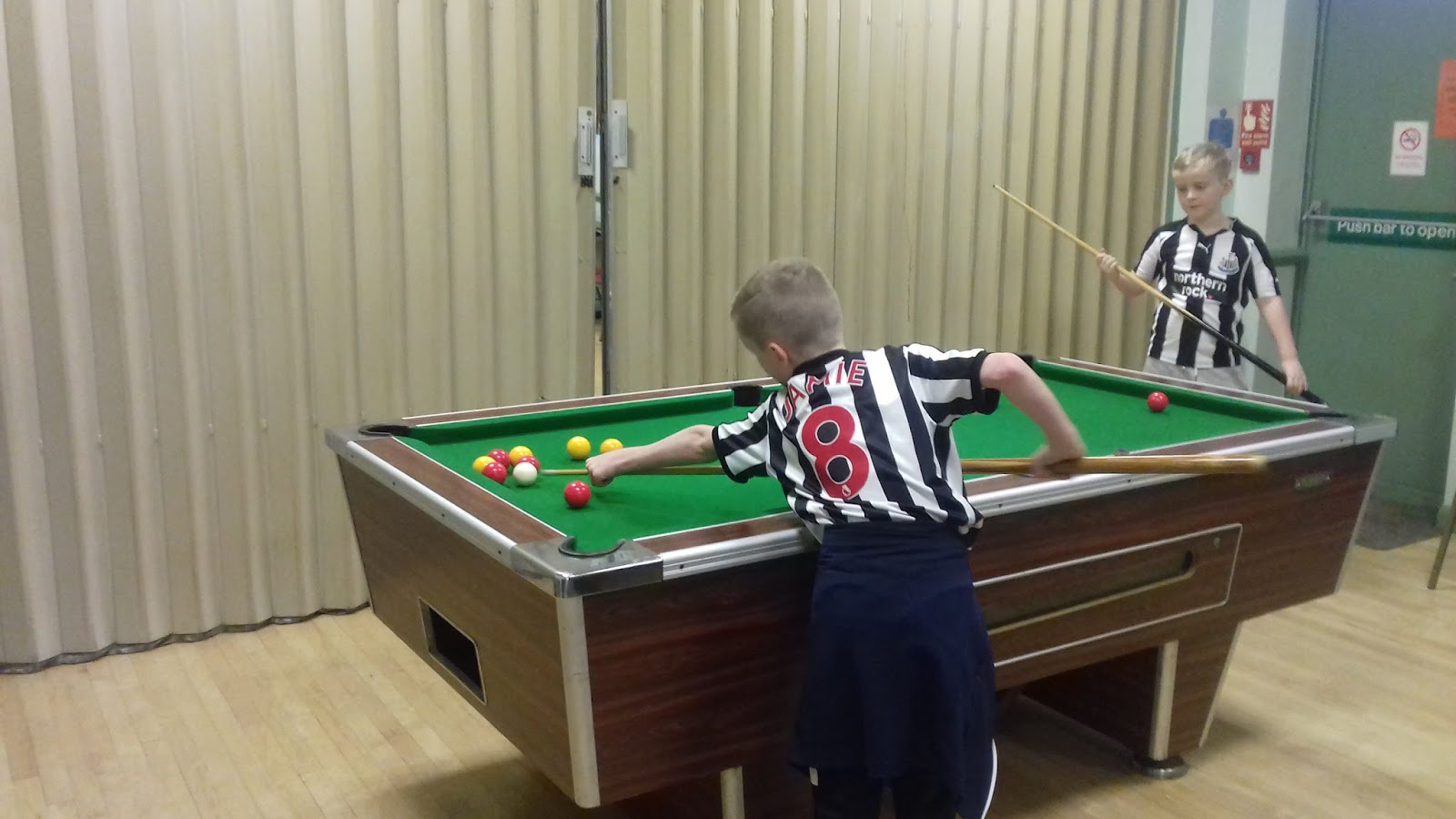 The Geordie Times Online Newcastle United Archive Fanzine THE - Regent pool table