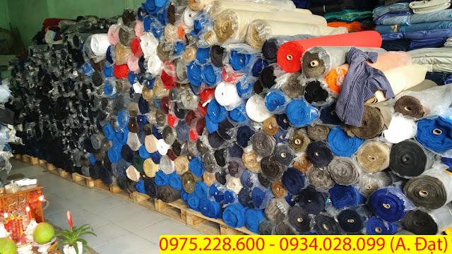 Thu mua vải tồn kho giá cao ở tại Bến Cát - Bình Dương