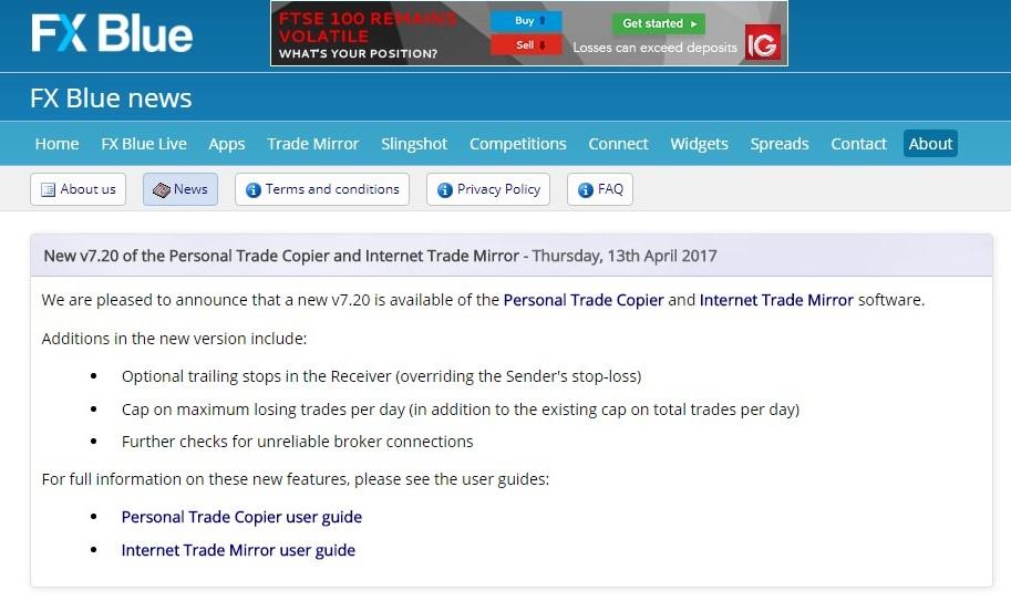 free copy trade: Trade Mirror and Trade Copier with MT4i