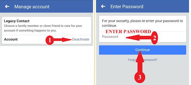 faceboiok account deasactive