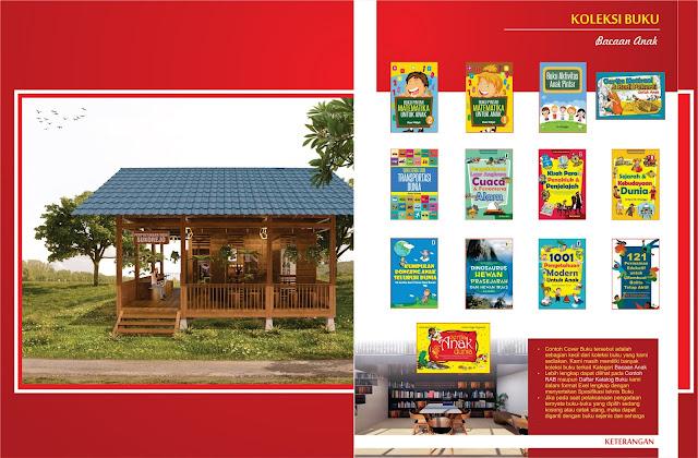 Buku Bacaan Anak Untuk Perpustakaan Desa