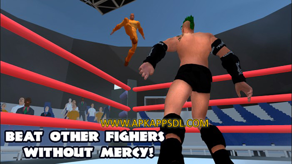 Download Wrestling Fighting Revolution Apk Mod v1.0 Full Version 2016