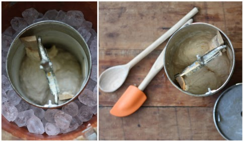 17 apart homemade peach ice cream recipe how to use a for Making sorbet by hand