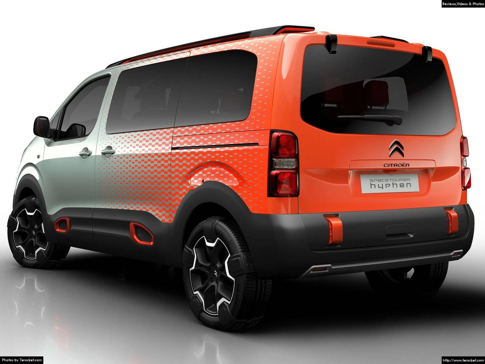 Hình ảnh xe ô tô Citroen SpaceTourer Hyphen Concept 2016 & nội ngoại thất