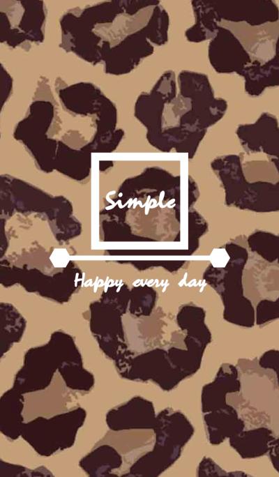 Leopard spot fashion series