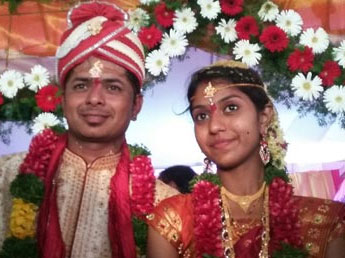Singer Madhu priya marriage photo