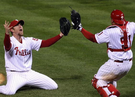 Ten years ago today Phillies won the World Series
