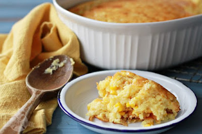 """Sweet Corn Spoonbread and a Great Big """"Thanks!"""""""