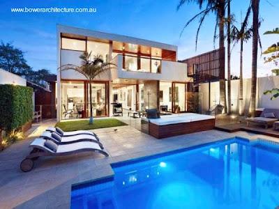 Casa de diseño moderno y estilo Contemporáneo