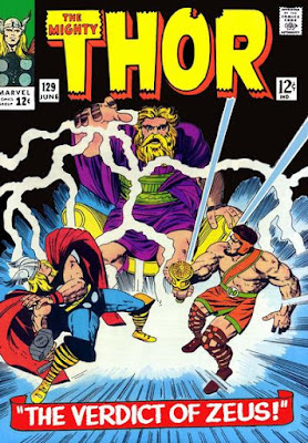 Thor #129, Hercules and Zeus