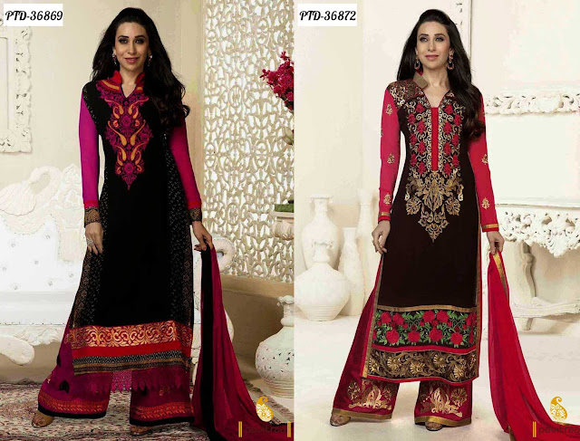 Karishma Georgette Plazo Suit