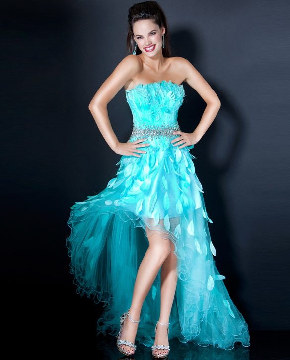 Feather Dressing Gown: Many Styles Of Prom Dresses With Feathers 2012