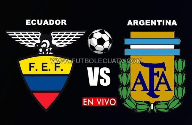 Ecuador y Argentina sostienen un partido en vivo desde las 00:09 horario de nuestro territorio por un amistoso internacional a efectuarse en el estadio Manuel Martínez Valero, siendo el árbitro principal a mencionar luego con transmisión de los canales oficiales CNT Sports, El Canal del Fútbol y DirecTV Sports.