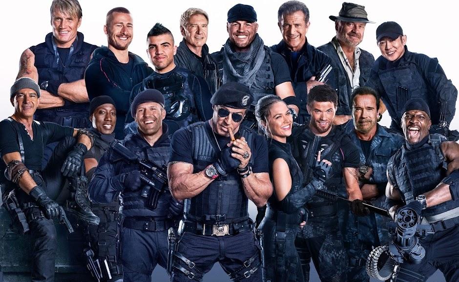 """Sylvester Stallone anuncia """"Os Mercenários 4"""""""